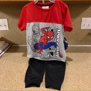 3T Spider-Man pjs